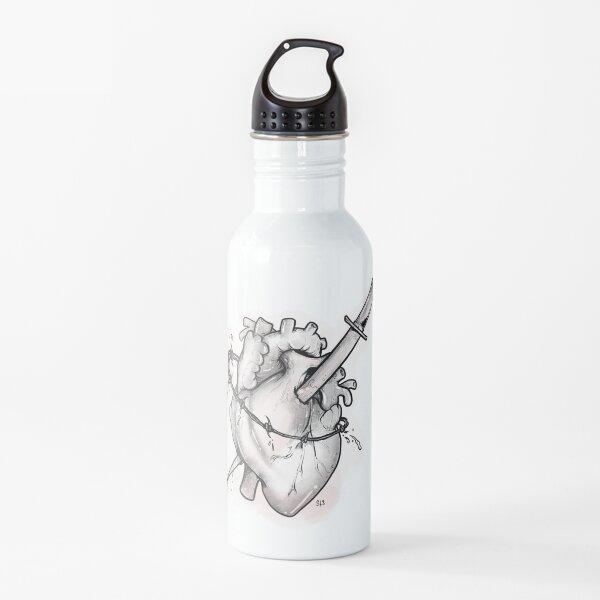 My broken bleeding heart  Water Bottle