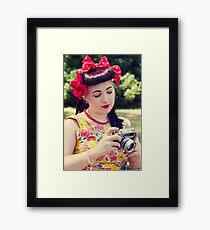50s Lauren II Framed Print