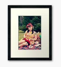 50s Lauren IV Framed Print
