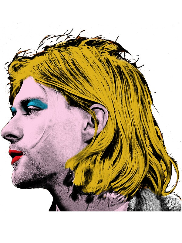 Pop Art - Nirvana - Kurt Cobain\