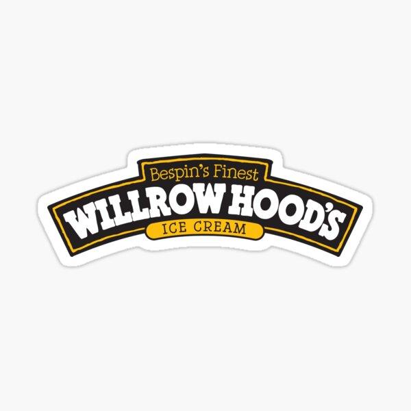 Willrow Hood's Ice Cream Sticker