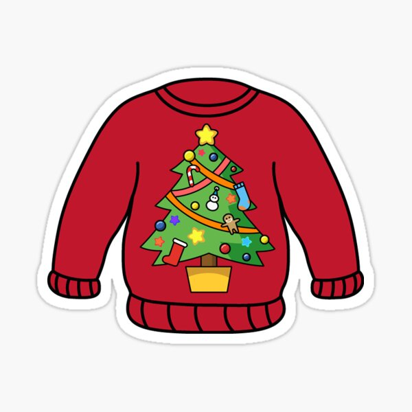 Daisyboutique Mens Christmas Tree Sweater Cute Ugly Pullover