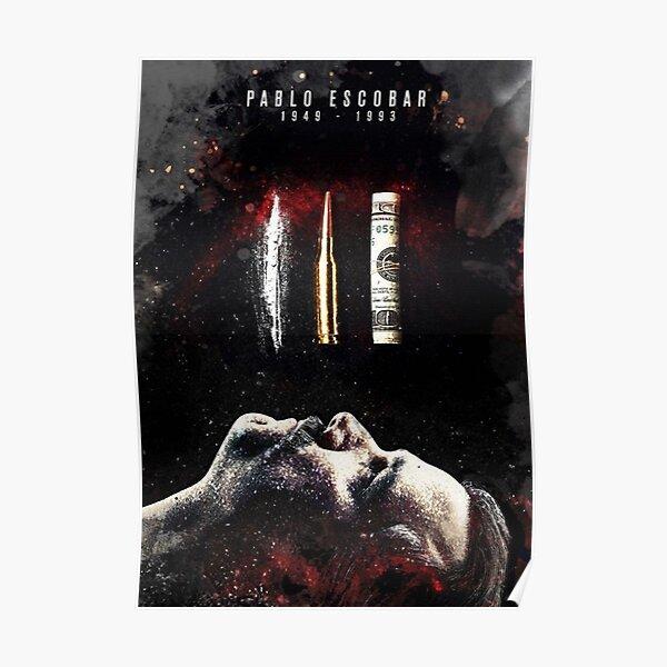 Pablo Escobar Death's Poster