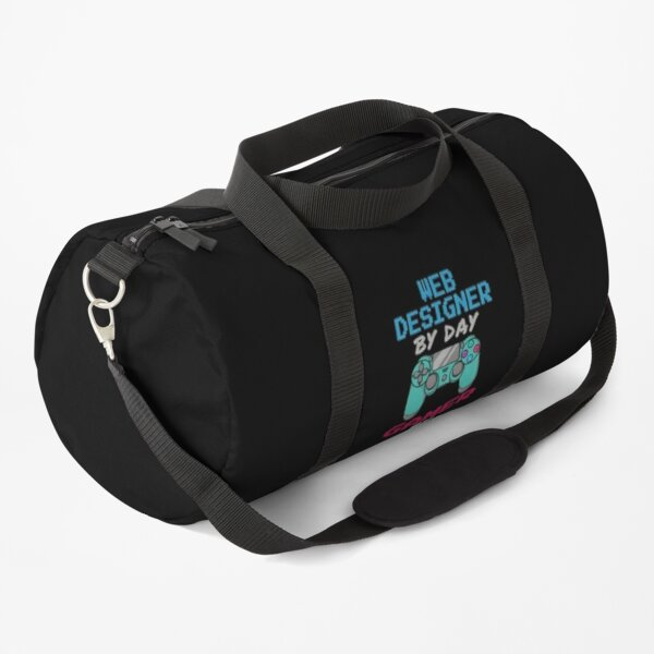 Web Designer By Day Gaming By Night Duffle Bag