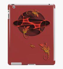 Fractal - Geckos - Butterfly iPad Case/Skin