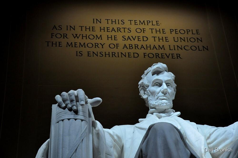 Lincoln Memorial by Dan Bronish