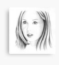 Karen Gillan portrait Canvas Print