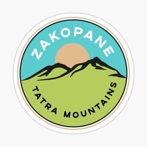 Zakopane Tatra Mountains Sticker