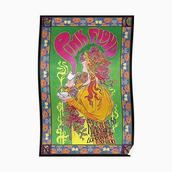 fille Rose Poster