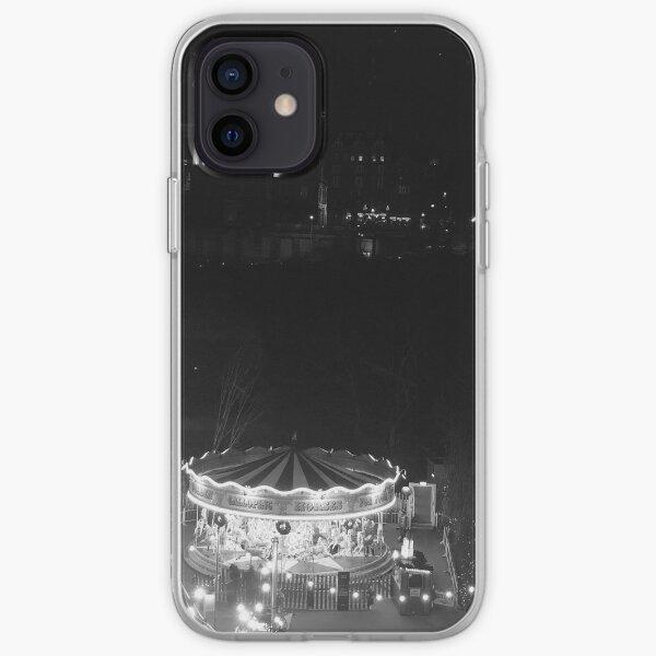 Greyscale Carousel  iPhone Soft Case