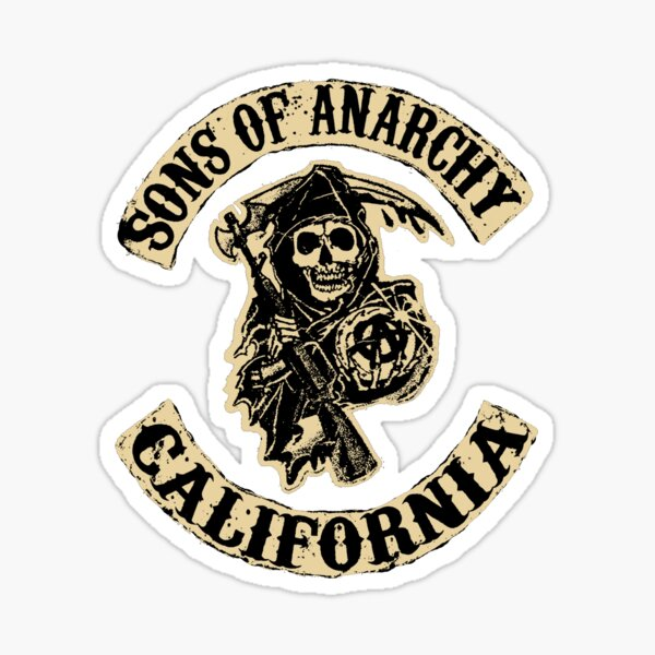 Sons of Anarchy 3 Sticker