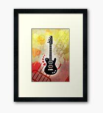 A Guitar for a Love Serenade Framed Print