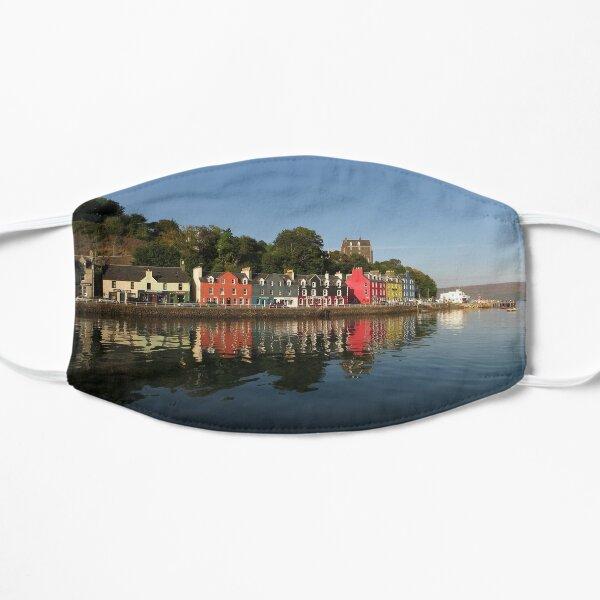 Tobermory Houses Mull Scotland Mask