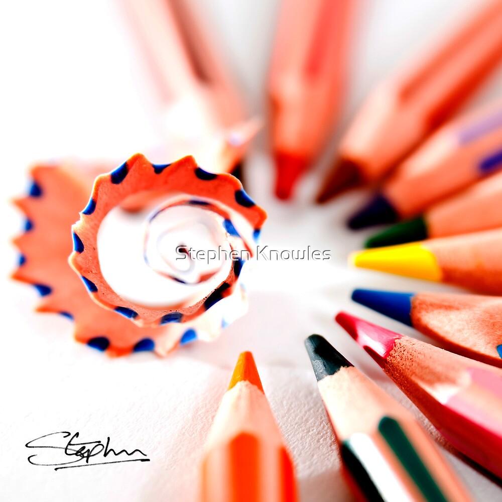 Pencil display by Stephen Knowles