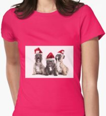 Christmas Choir Womens Fitted T-Shirt