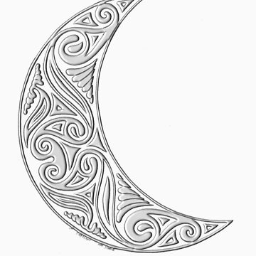 Ancient Crescent (3d) by CapallGlas