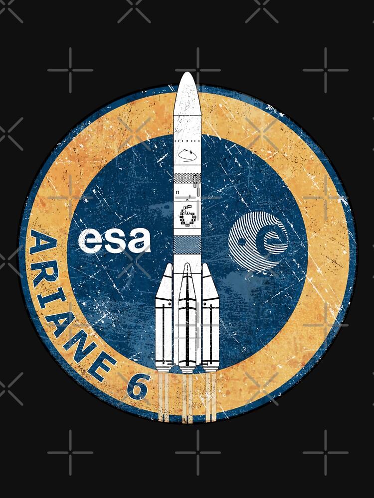Ariane 6 ESA Badge by BGALAXY