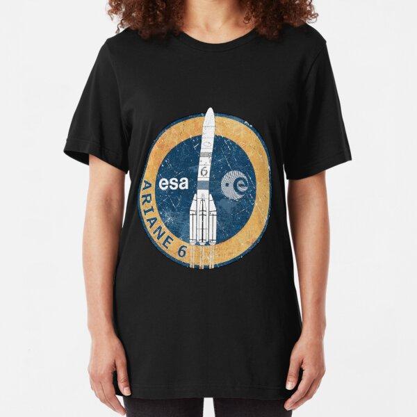 Ariane 6 ESA Badge Slim Fit T-Shirt
