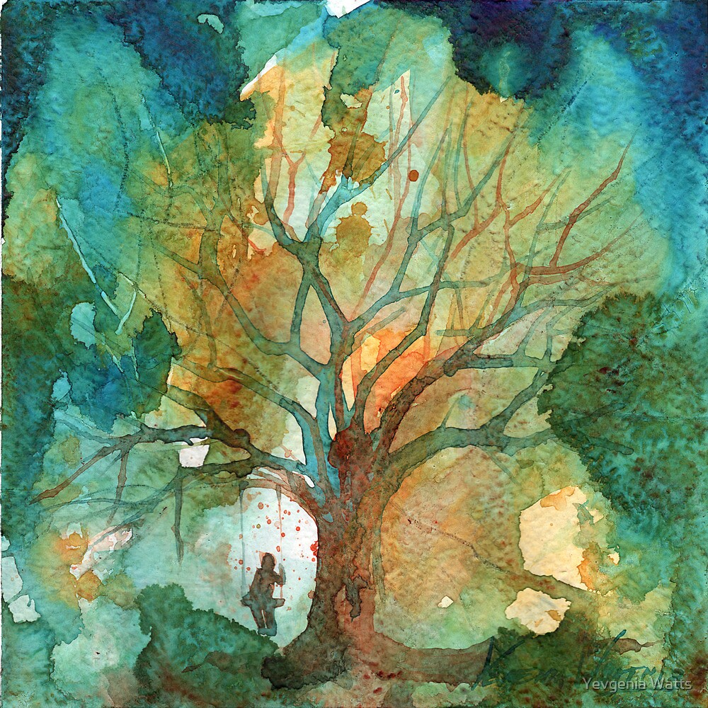 Tree and His Person by Yevgenia Watts