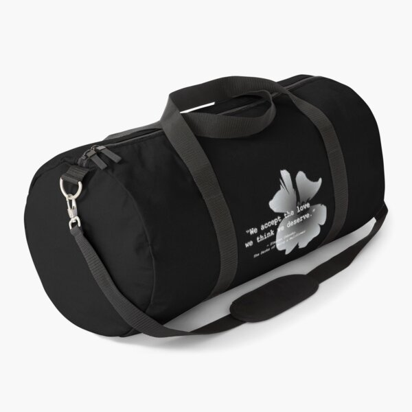 The Perks of Being a Wallflower (White ver.) Duffle Bag
