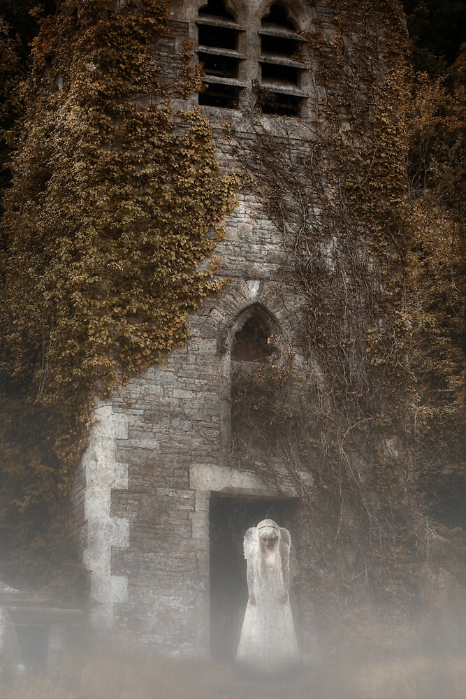 White Angel by Sharonroseart