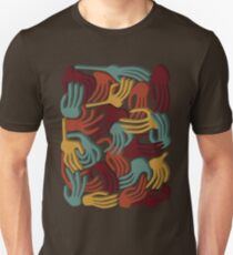 Hands Superposition WLJ71 Unisex T-Shirt