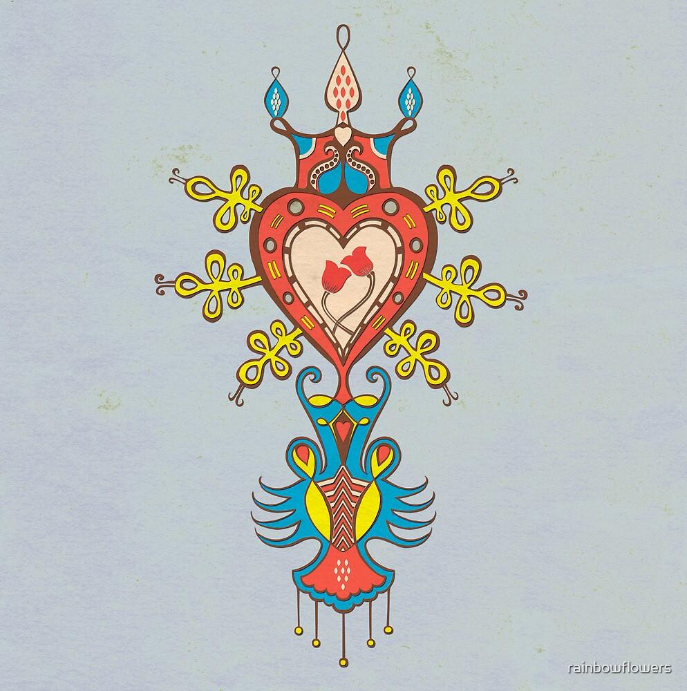 Heart Rules by rainbowflowers
