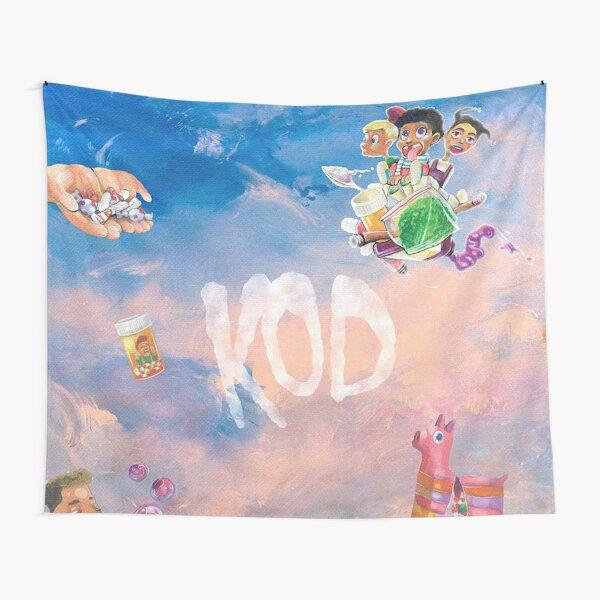 J Cole KOD Wall Tapestry