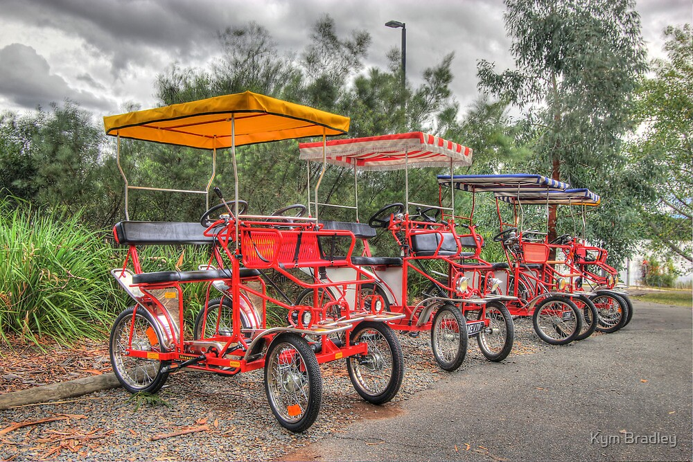 Canberra Bike Hire by Kym Bradley