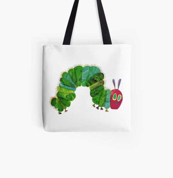 the very hungry caterpillar All Over Print Tote Bag