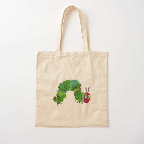 the very hungry caterpillar Cotton Tote Bag
