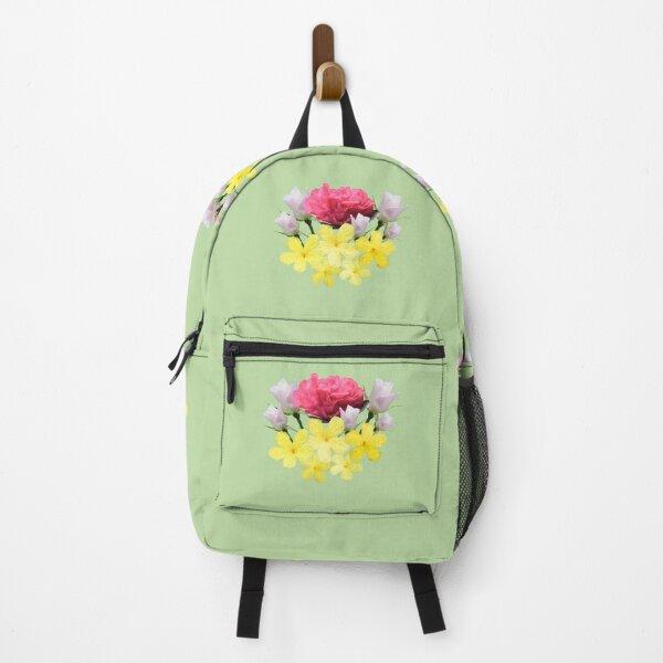 Flower bouquet Backpack
