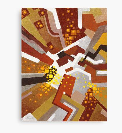 Autumn Nova - Abstract Acrylic Canvas Painting Canvas Print