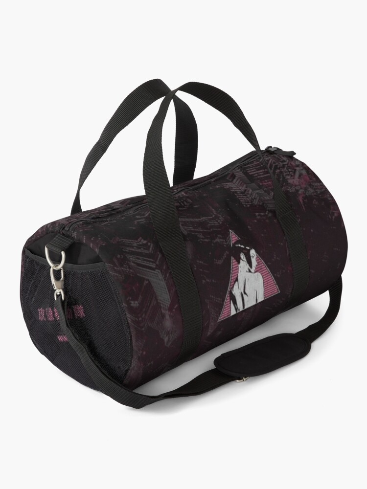 Alternate view of 025 GITS pink city Duffle Bag