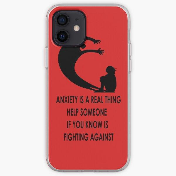 Fight against Depression iPhone Soft Case