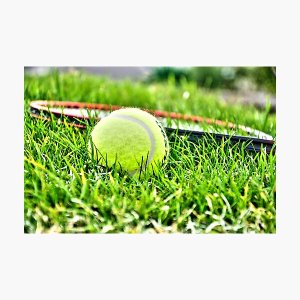 Tennis Photographic Print