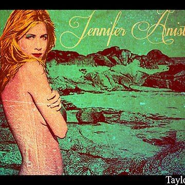 Jennifer Aniston Pop Art poster 2 by babybadger