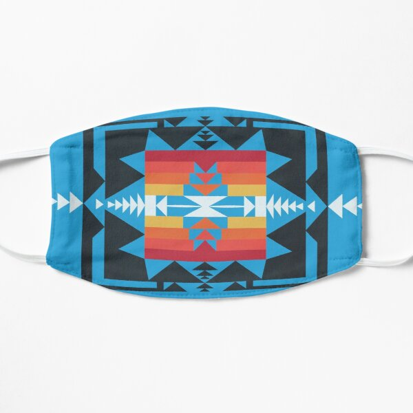 Native American Art Flat Mask