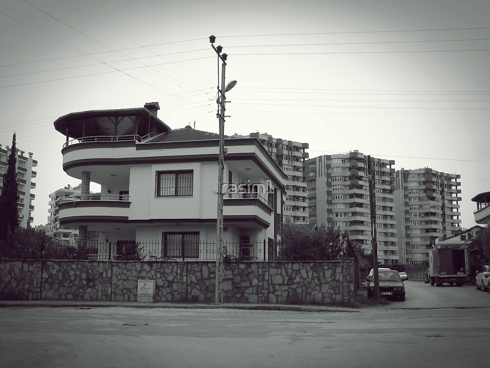 A house in the city. by rasim1