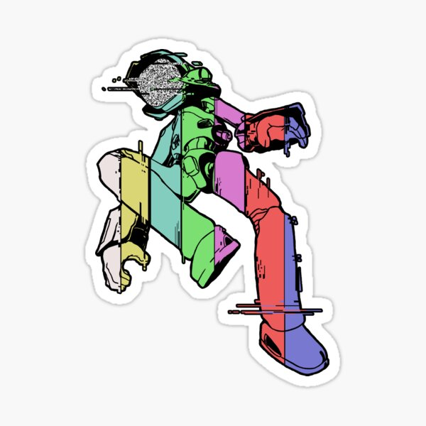 Canti - Glitch Sticker