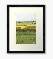 Plain Landscape Framed Print
