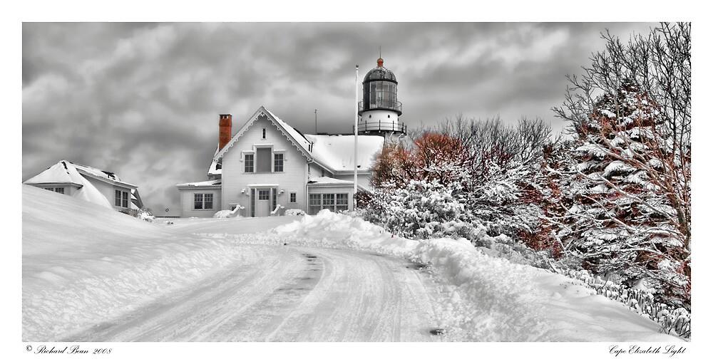 Cape Elizabeth Light by Richard Bean