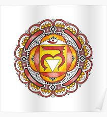 The Root Chakra Poster