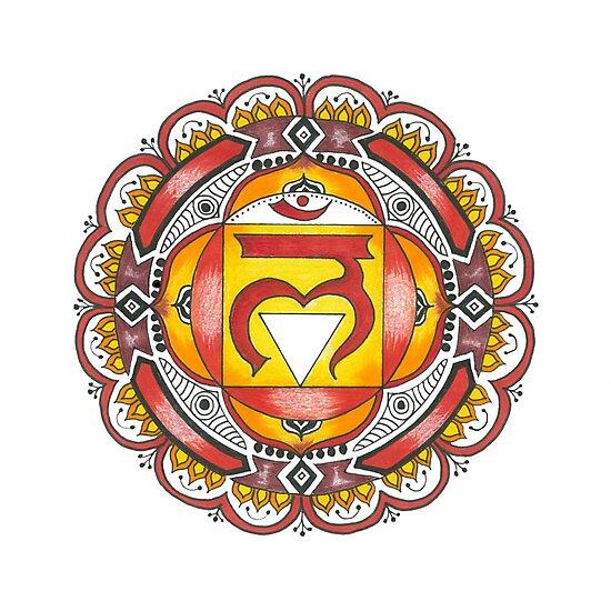 The Root Chakra by heavenlyhenna