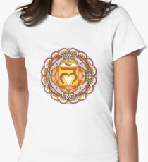 The Root Chakra Womens Fitted T-Shirt