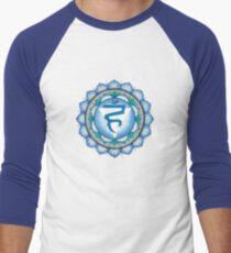 The Throat Chakra Men's Baseball ¾ T-Shirt