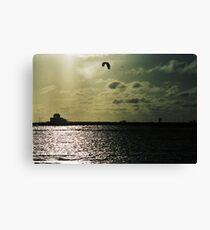 Surf & Sky Canvas Print