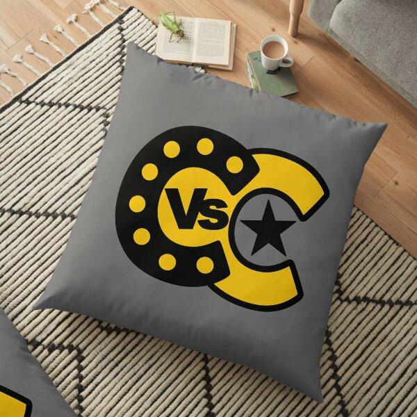 Cabaret vs Cancer - Bats Floor Pillow