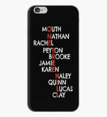 One Tree Hill (Names) - Iphone case  iPhone Case