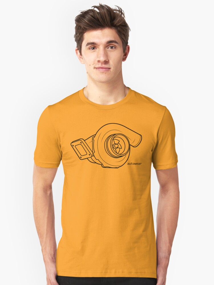 Turbo Charger Unisex T-Shirt Front